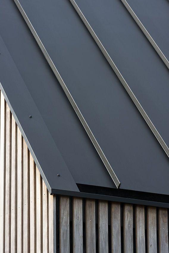 Longhouse Architecten Studio Pls Ssab Archello Roof Cladding Roof Architecture House Cladding