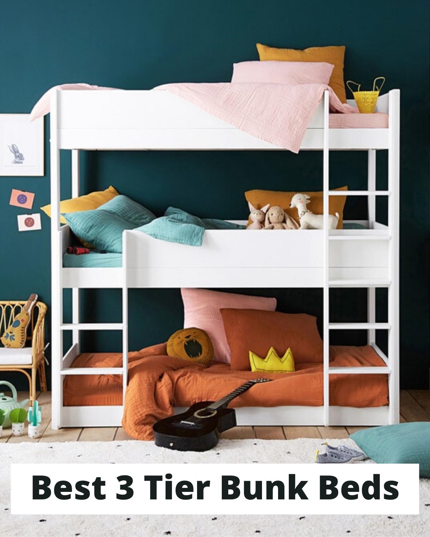 Best 3 Tier Bunk Beds in 2020 Bunk beds, Triple bunk