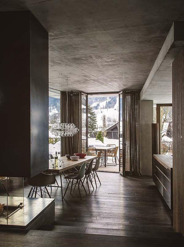Modern Mountain Retreat Nestled In Resort Village Of Kitzbhel