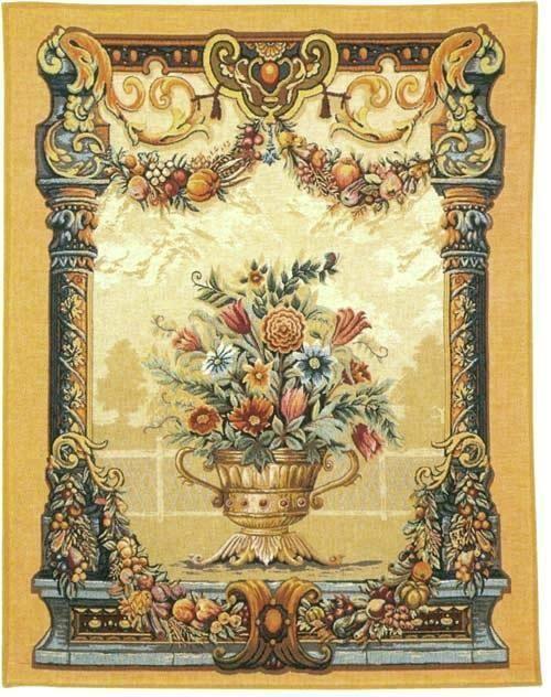 Jardin Beaumesnil - Italian Renaissance Wall Tapestry | Tapestries ...