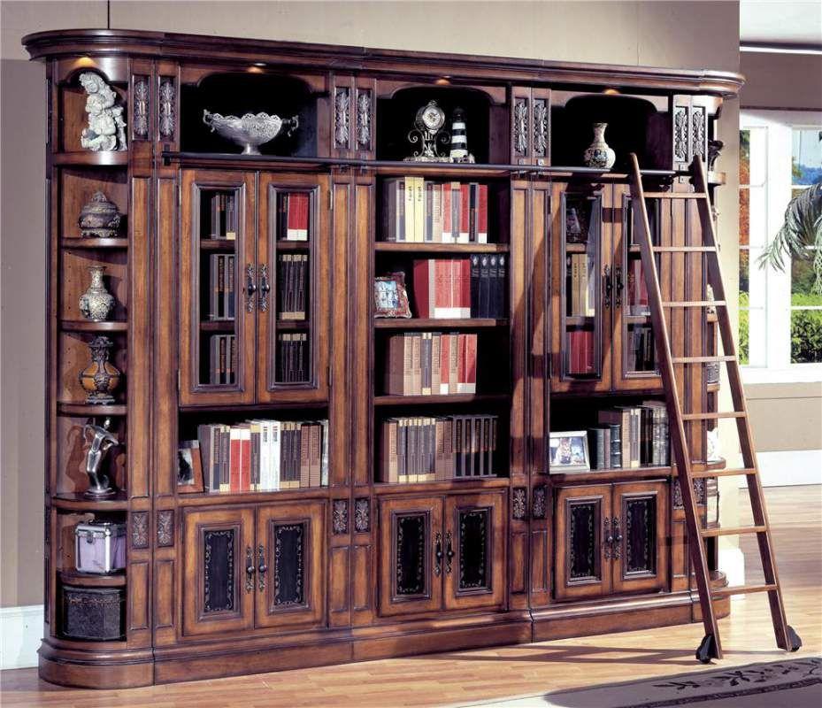 Parker House Da Vinci Glass Door Bookcase Wall Buy Price Photo Gla