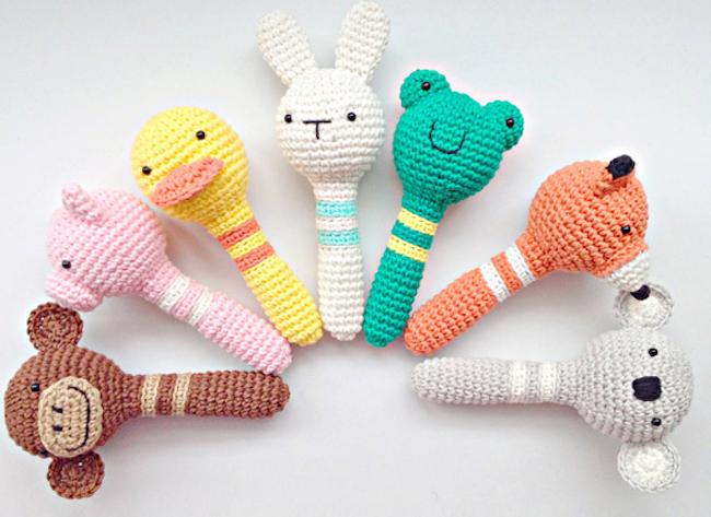 Amigurumis Para Bebes : Muñeco amigurumi para bebé de crochet gusano con nombre