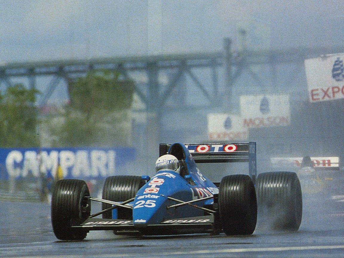 1989 Ligier JS33 - Ford (Rene Arnoux)