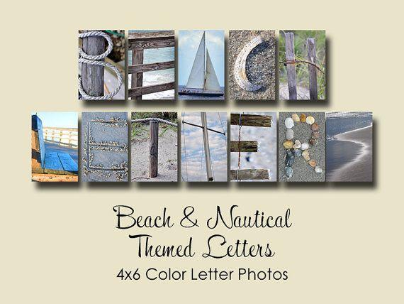 beach nautical letter photos 4x6 color alphabet photography beach letters and photos