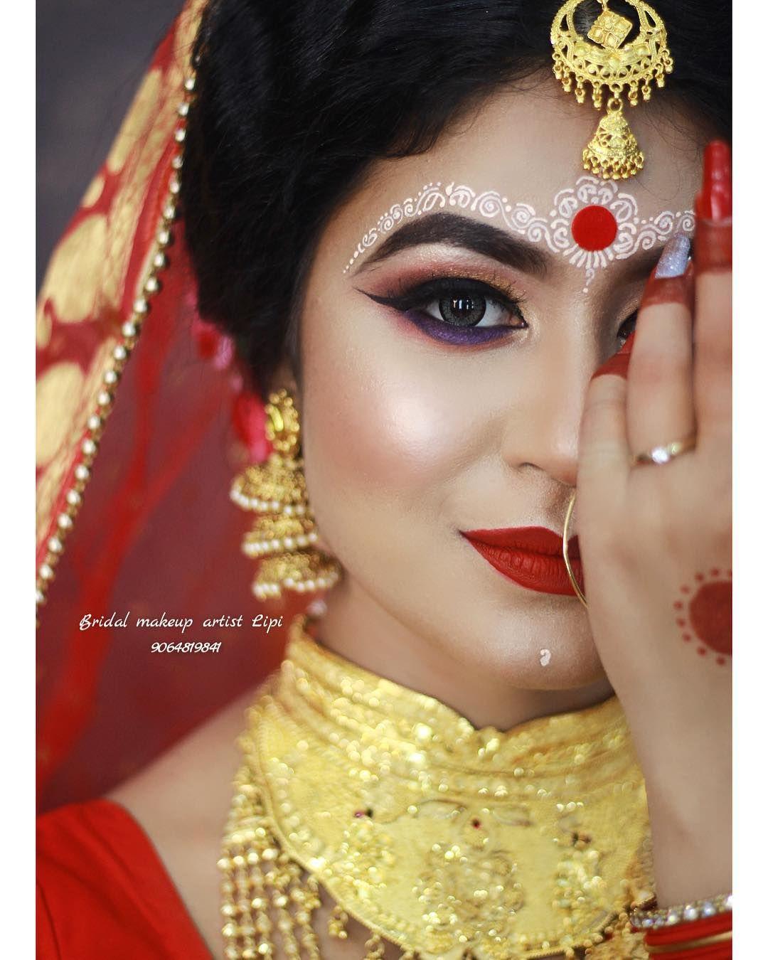 bengalibrides #bengalibridalmakeup #chandanarts