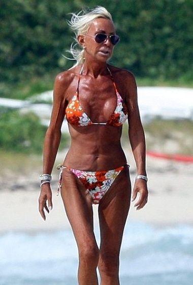 versace boobs Donatella