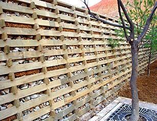 New Zealand Retaining Walls Retaining Wall Crib Wall Landscaping A Slope