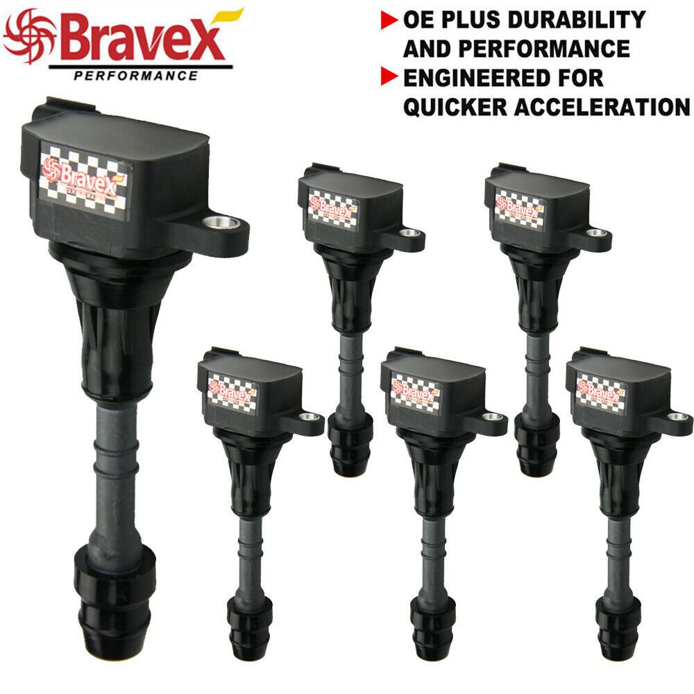 Ad eBay) SET OF 6 PREMIUM IGNITION COILS PACK FOR NISSAN