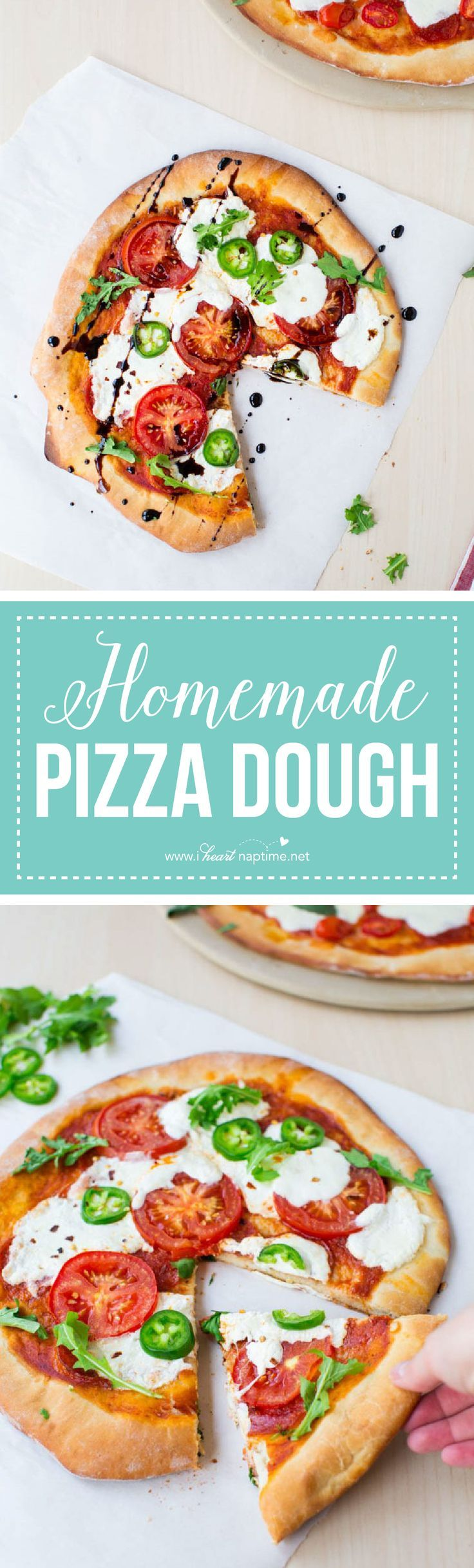 I\'m excited to share my favorite Homemade Pizza Dough recipe with ...