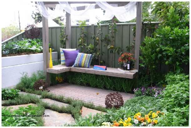 Pleasant Hanging Bench Modern Small Garden Garden Design Outdoor Gmtry Best Dining Table And Chair Ideas Images Gmtryco