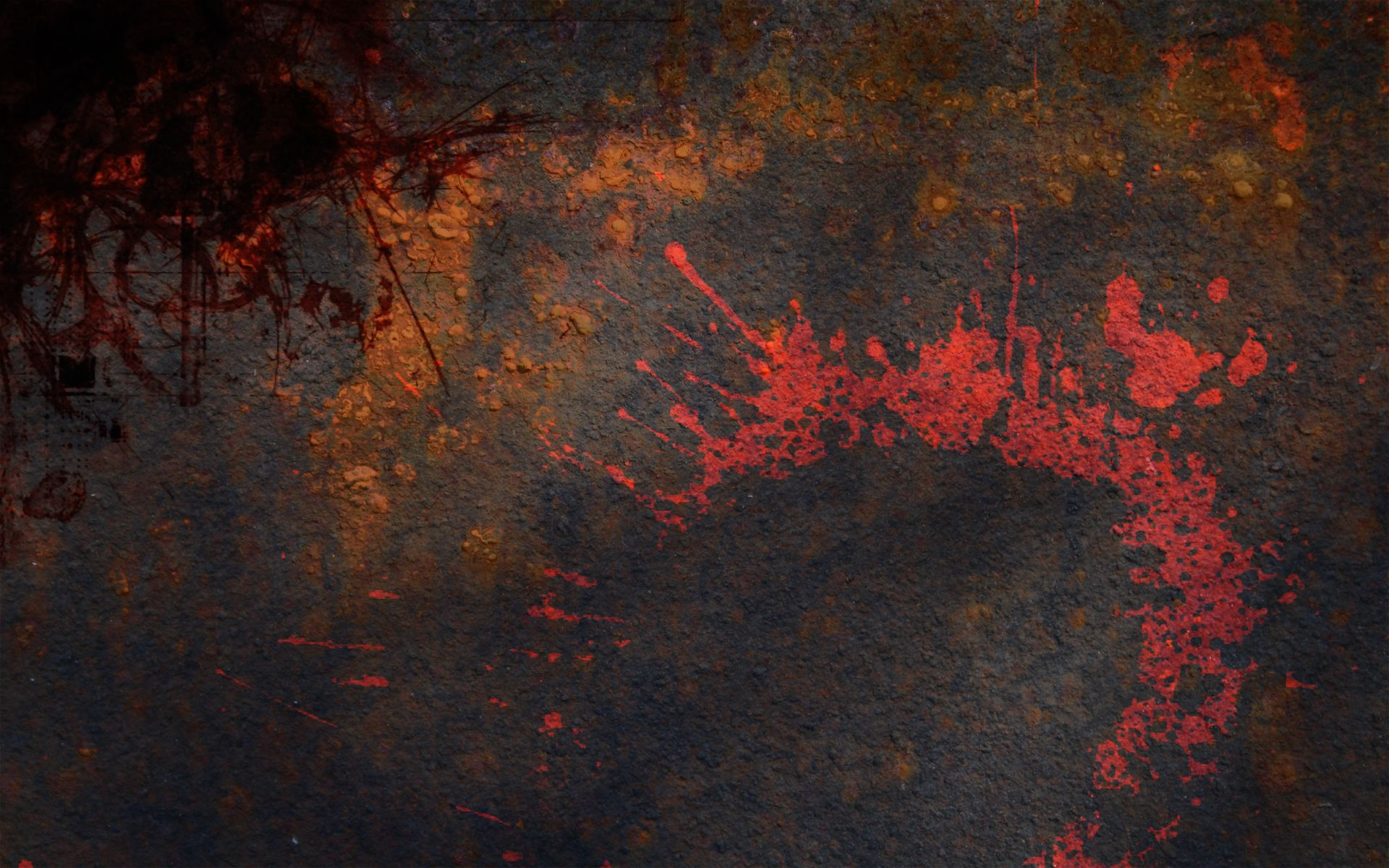 grunge metal paint splashes / 1920x1200 Wallpaper ...