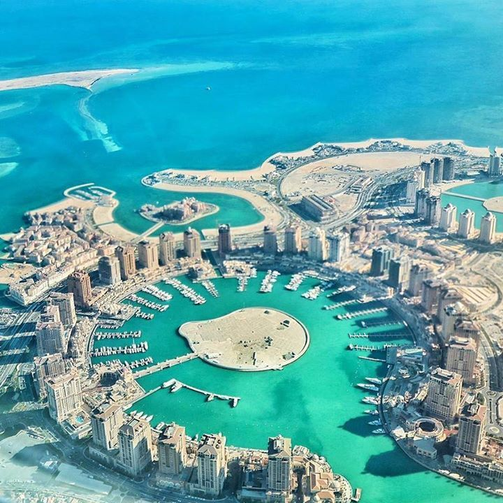 Hotels-live.com/cartes-virtuelles #MGWV #F4F #RT On the way #home from Australia Incredible #view over The Pearl #Doha #Qatar is an artificial #island spanning nearly 400 million square meters - #luxury #lifestyle in Middle East ___ #travellersplanet #birdeyeview from #airplane by @qatarairways by travellersplanet https://www.instagram.com/p/BBUJnUvqLCo/