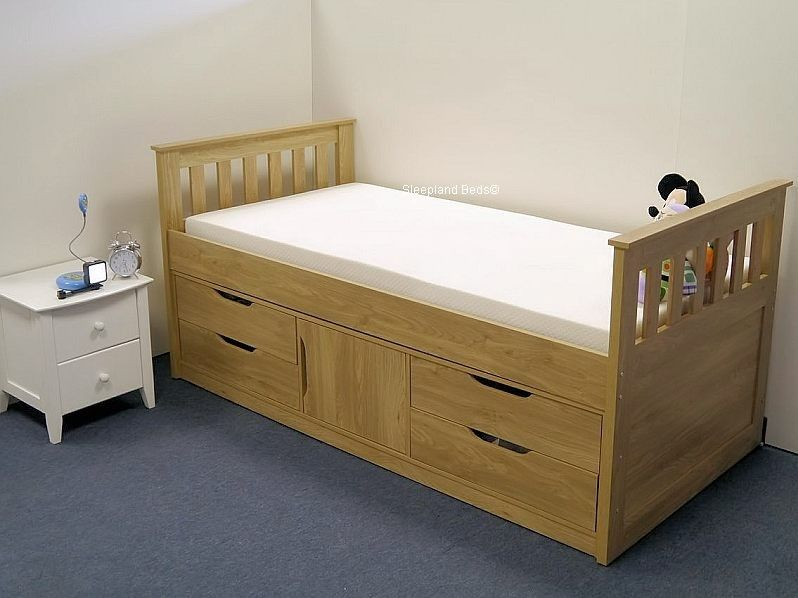 Depiction Of Fascinating Beds With Drawers For Super Convenient Sleeping Space