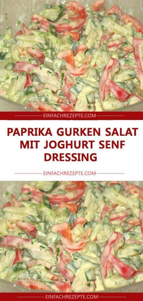 Gurken Salat mit Joghurt Senf Dressing 😍 😍 😍   - Nancy Weuthen-#chickensalad