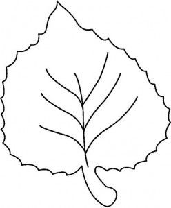 leaves coloring page part 2 - Leaves Coloring Page 2