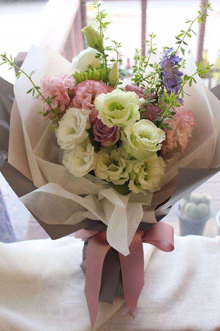 Image result for flower bouquet wrapping style cellophane tissue