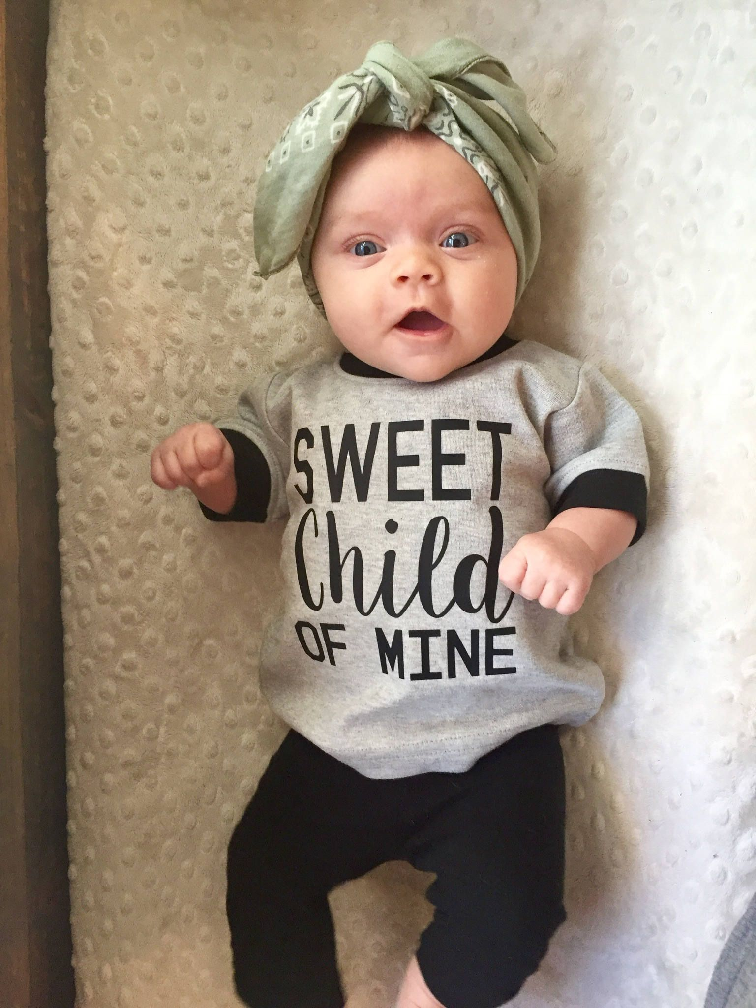 Baby Clothes Sweet Child of Mine Kids Clothes Cute Baby Clothes