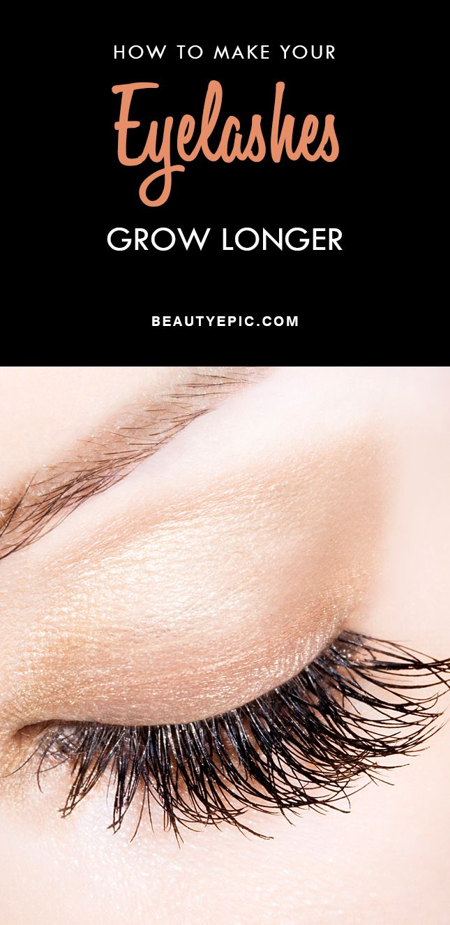 How To Get Longer Eyelashes Naturally At Home Home Remedies