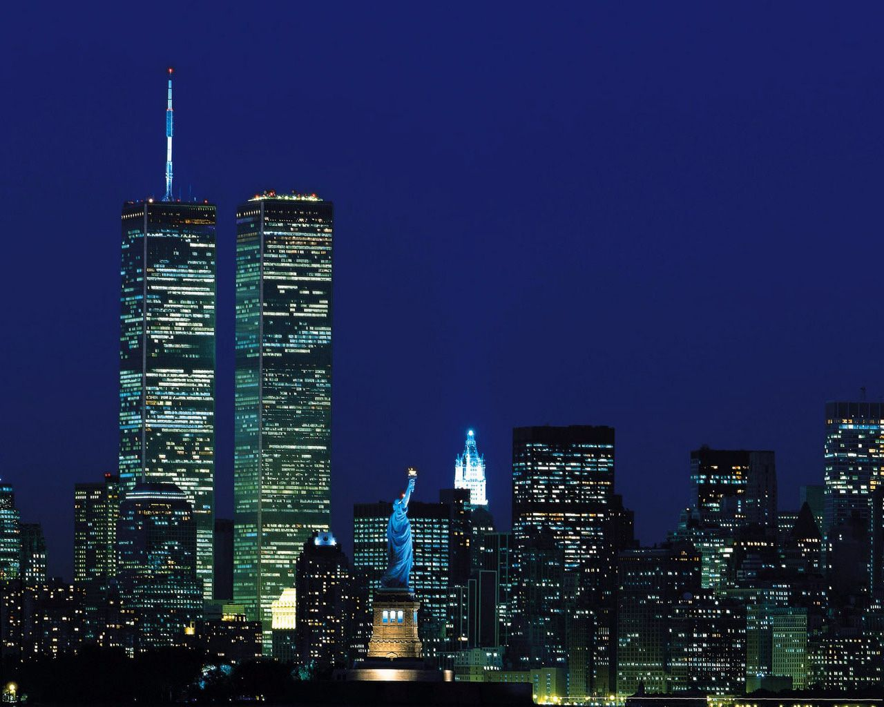 New York City At Night \u2013 HD Wallpaper City  America \ufe0f  Pinterest  Hd wallpaper, Wallpaper and