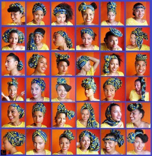 36 Ways To Tie A Head Wrap Natural Hair Styles Head Wraps Hair Wraps