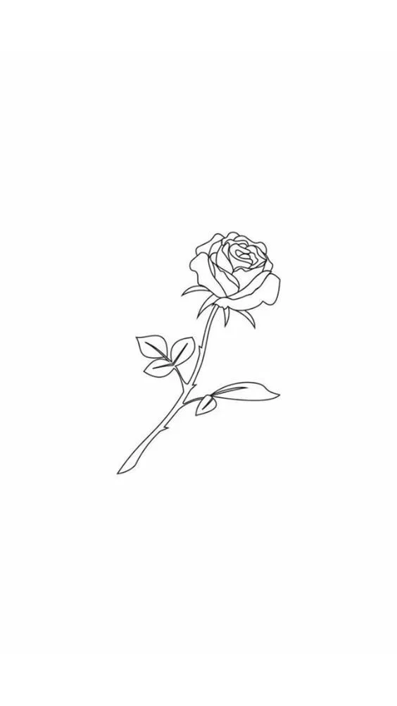 35 Cool Easy Whimsical Drawing Ideas Tattoos Rose Drawing Tattoo Rose Drawing
