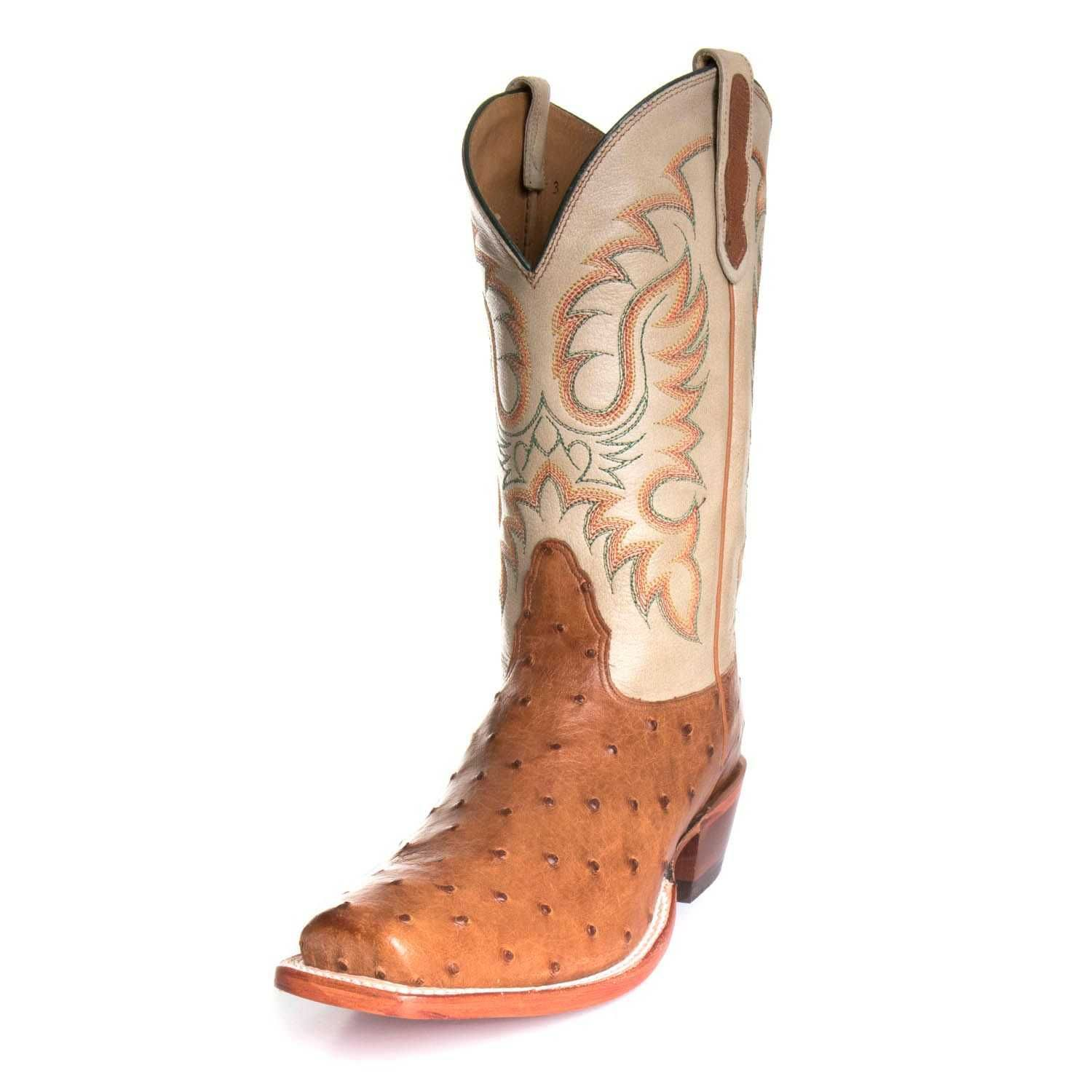 1dc2ae018ab Nocona Mens Full Quill Ostrich Exotic Boots MD6512 in 2019 | Cowboy ...