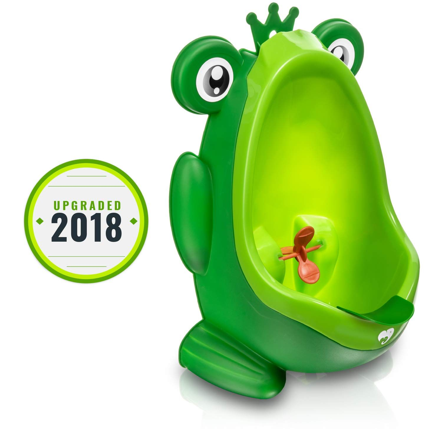 Frog Potty Training Urinal For Boys Toilet With Funny Aiming Target Green You Can Get Additional Details At The Potty Training Urinal Potty Training Urinal