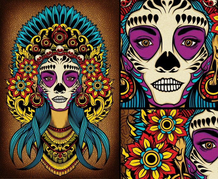 Diosa Azteca De La Muerte Orgullo Azteca Pinterest Art Pale
