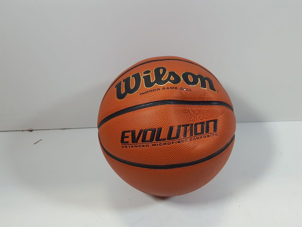 Wilson Evolution Indoor Game Basketball Official Size 29 5 Black Wtb0516r Ebay Link Basketball Indoor Games Indoor Basketball