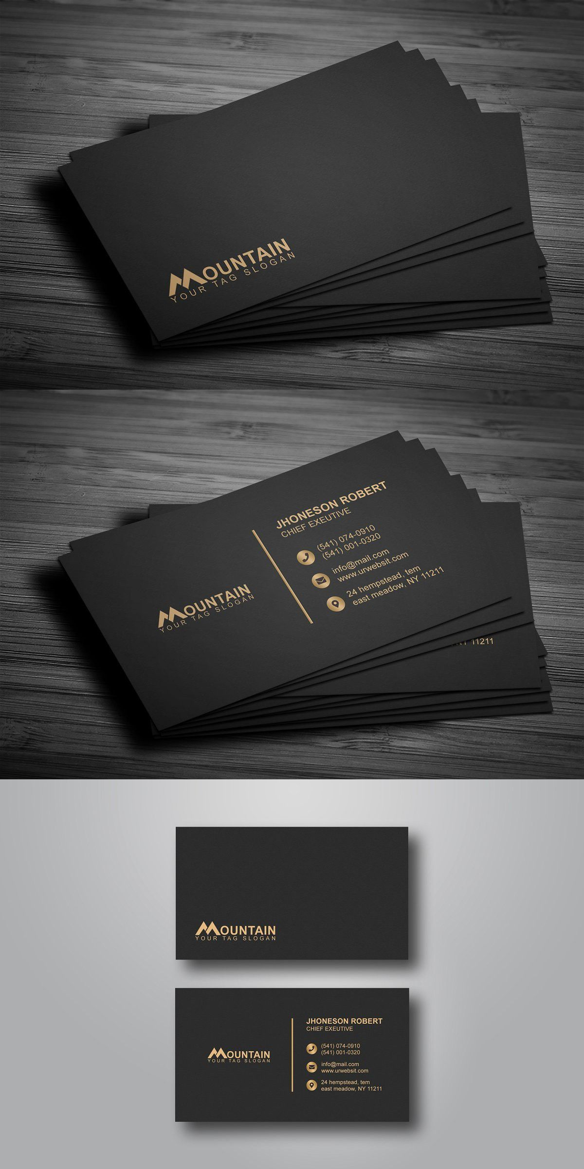 Get Everything You Need Starting At 5 Fiverr Business Card Design Black Business Card Design Simple Business Cards Layout