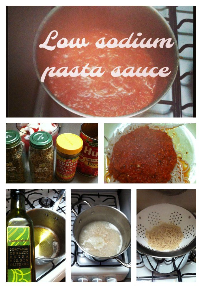 Low Sodium Pasta Sauce