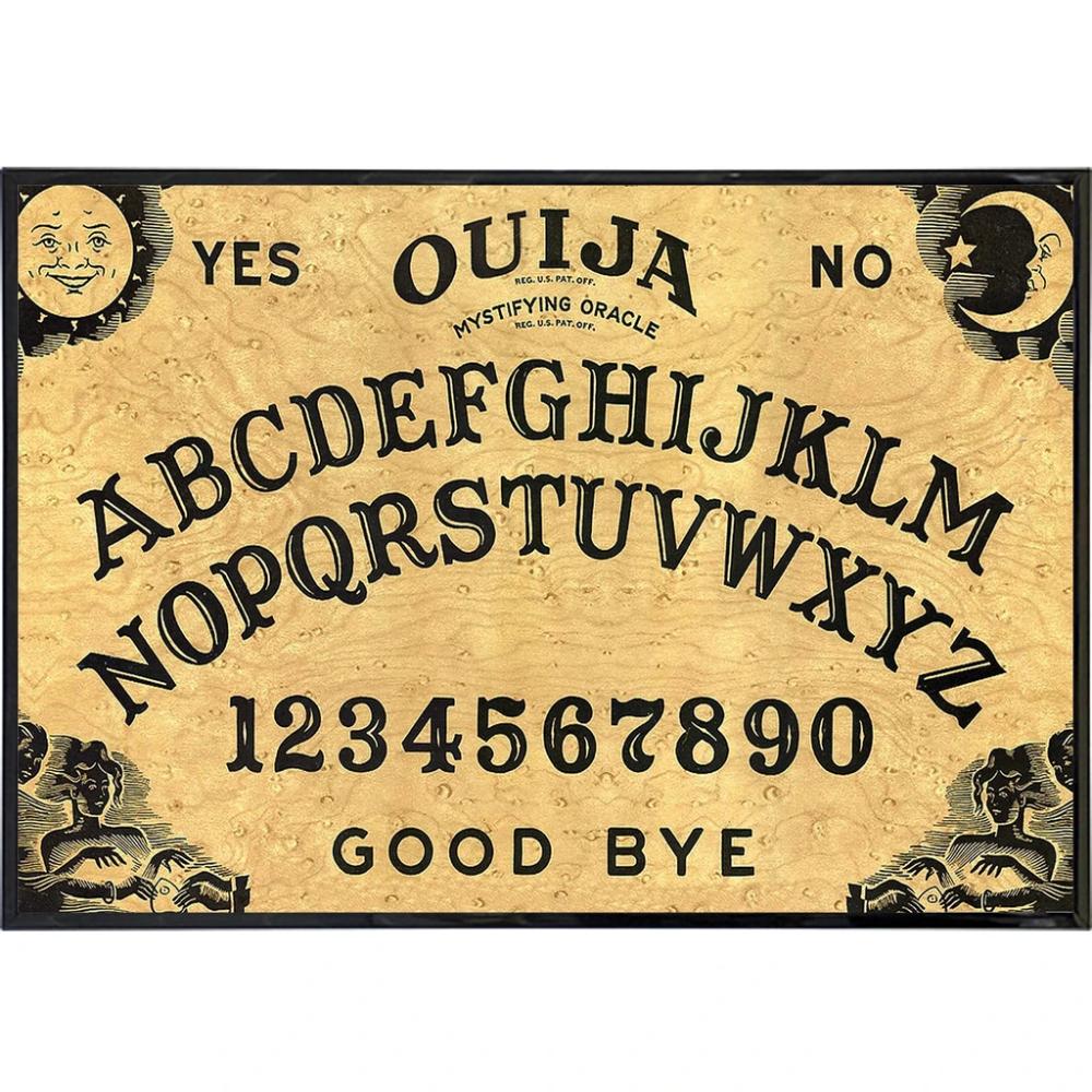 Ouija Board Print The Original Ouija Ouija Board Print