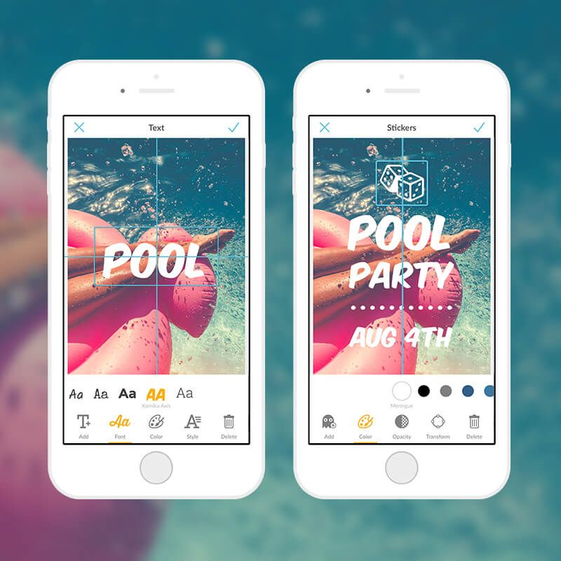 Get Your Designs Centered with Snap Alignment on PicMonkey Mobile