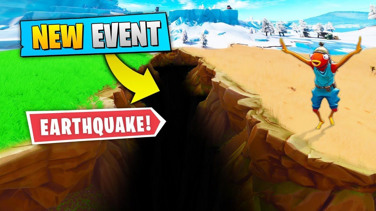 New Event Earthquake In Fortnite Fortnite Funny Fails And Wtf