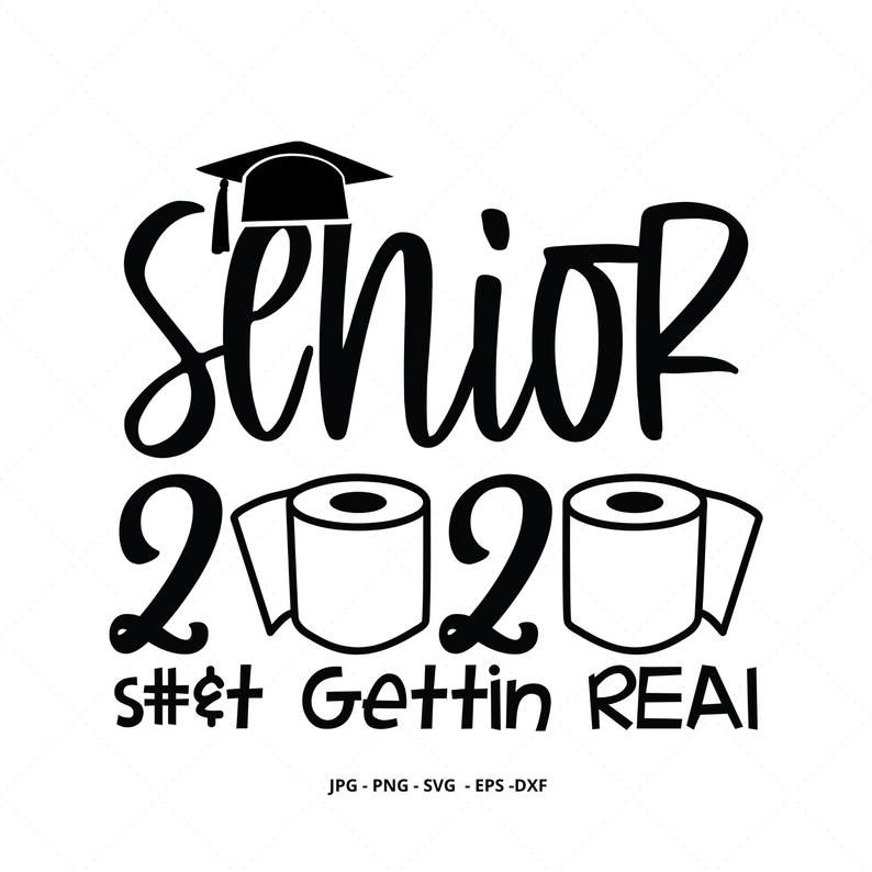 Senior 2020 Shirt Senior Svg 2020 Graduate 2020 Seniors