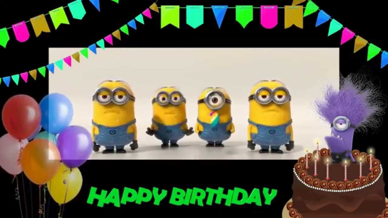 Happy Birthday to you! Minions Birthday song. Happy