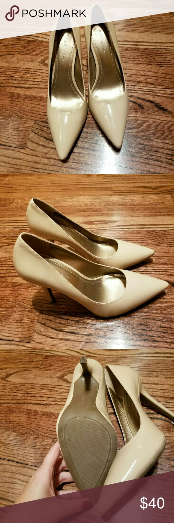 0751054e67 BCBG Heidi Classic Pointed-Toe Pumps size 9 Brand new