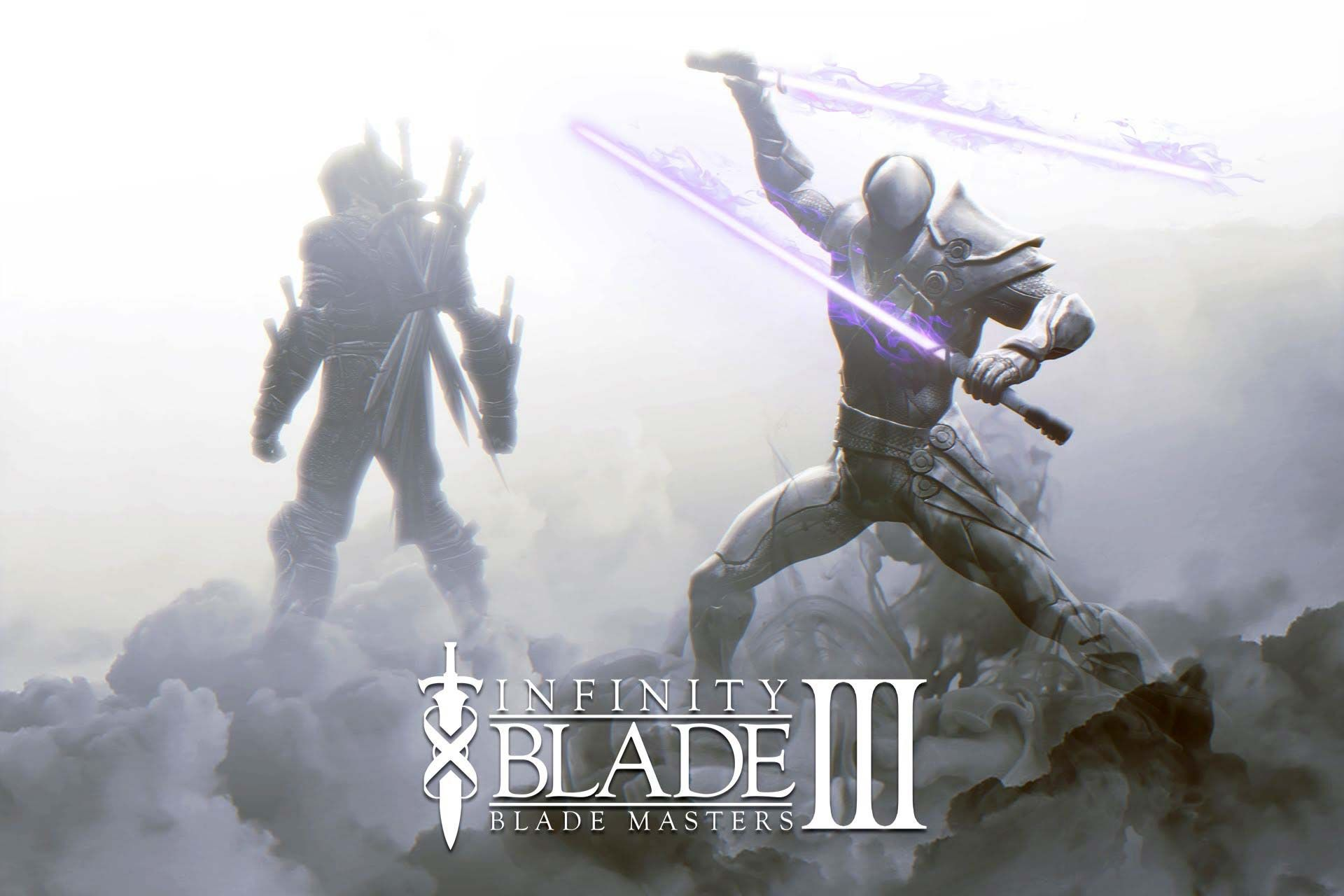 The deathless blade masters from Infinity Blade III The