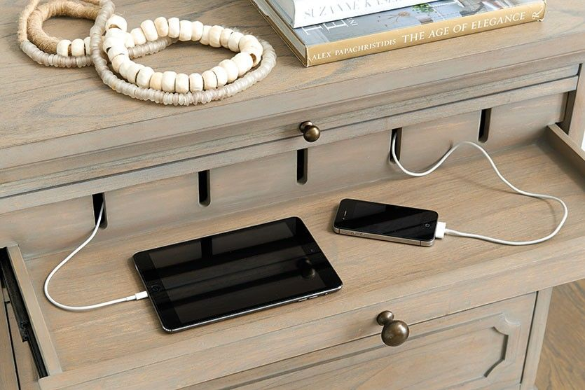 Unexpected Products From Ballard Designs Nightstand With Charging Station Large Nightstands Charging Station