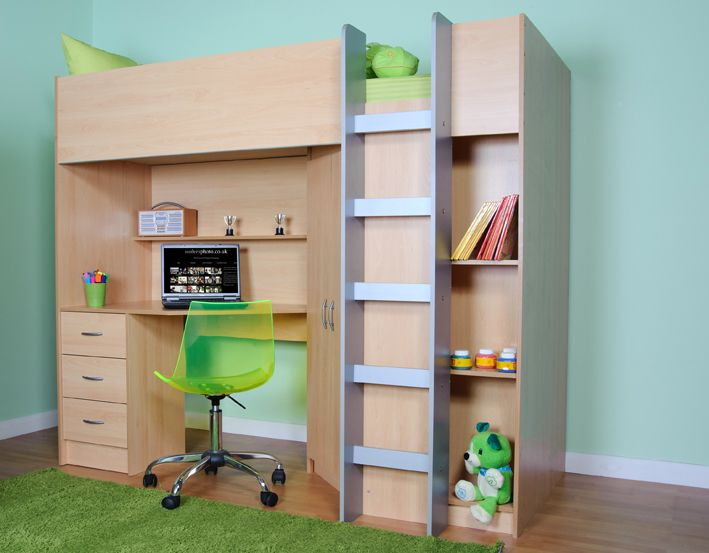 Cabin Beds For Small Rooms high sleeper £270 mrsflatpack | small rooms | pinterest