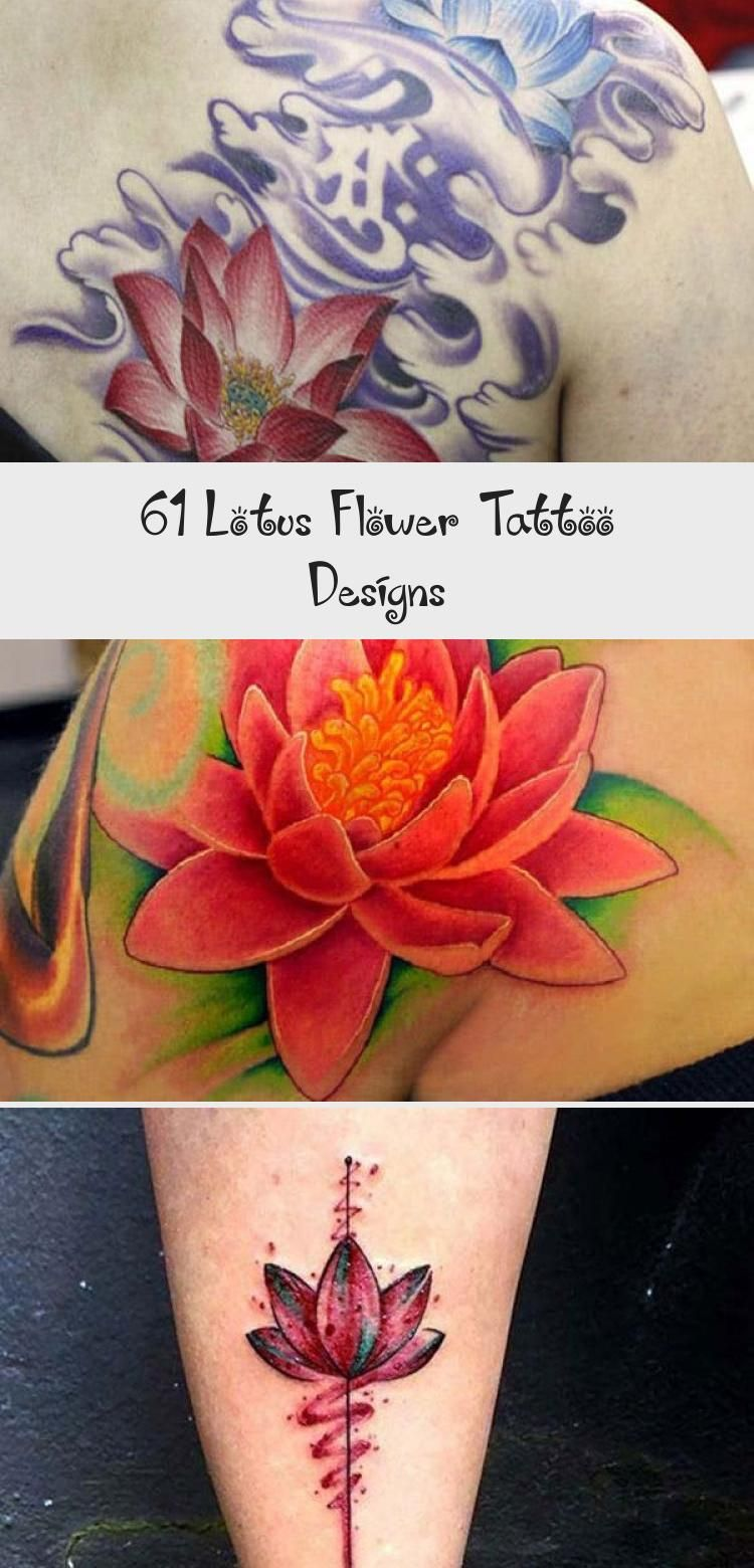 Photo of Niedliche kleine Knöchel Lotus Flower Tattoo – Niedlich, farbig, schwarz und weiß, groß und …