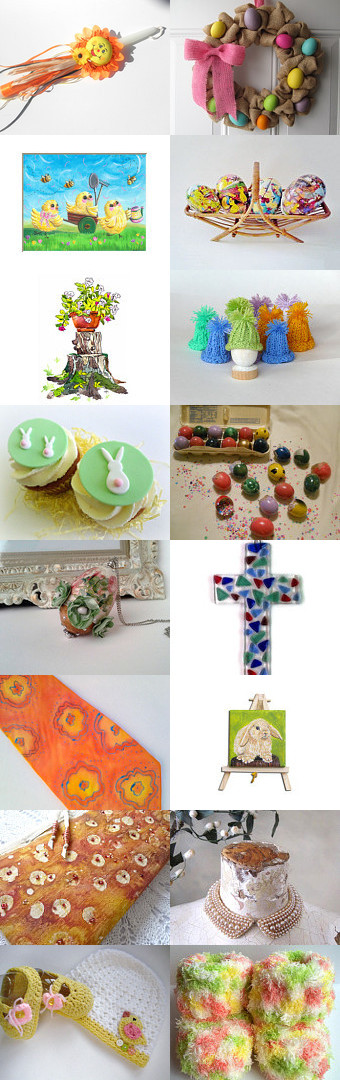 Easter for all by Elena Kurtidi on Etsy--Pinned with TreasuryPin.com
