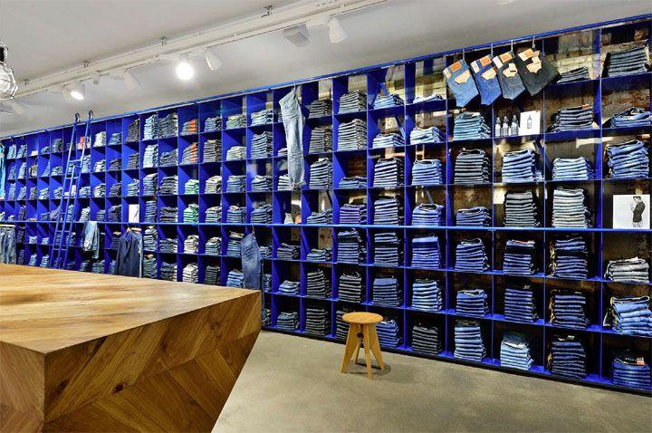 De Rode Winkel store by VEVS Interior Design, Woerden Netherlands ...