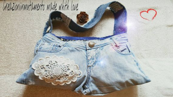 Guarda questo articolo nel mio negozio Etsy https://www.etsy.com/it/listing/465203669/jeans-bag-teenager-bag-wife-bag-bags