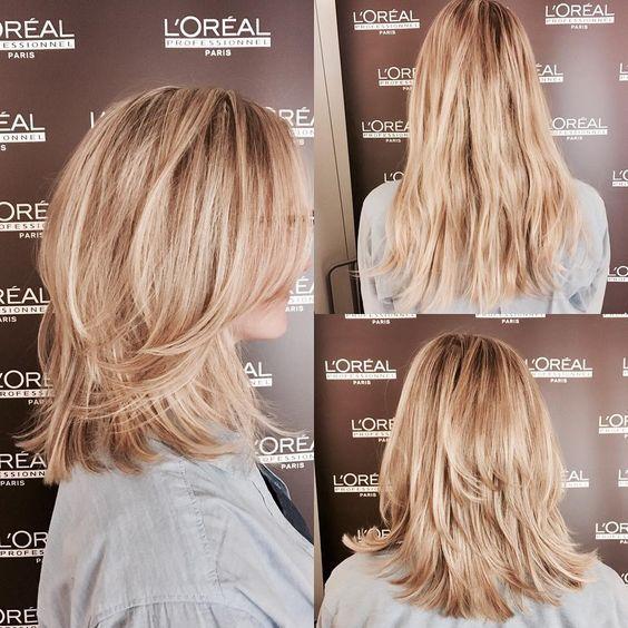Diesen Neuen Stufenschnitt Wollen Jetzt Alle Haben Gestufter Haarschnitt Langhaarfrisuren Stufenschnitt Lange Haare