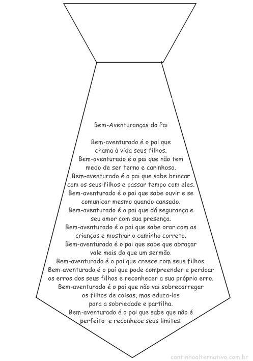 Poema Para O Dia Dos Pais Bem Aventuranças Do Pai Blog Cantinho