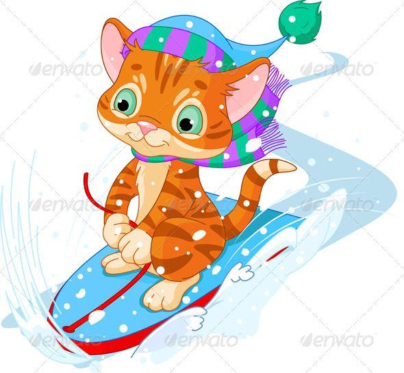 Fast Fun Kitten Kitten Images Winter Snow Kittens Cutest