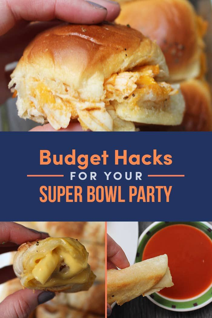 9 Tricks For Throwing A Delicious Super Bowl Party Without Breaking The Bank
