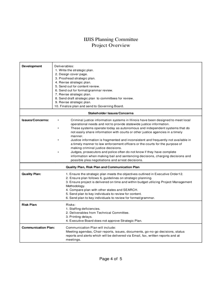 Project Overview Template 154 Writing Planning Templates Grammar Review