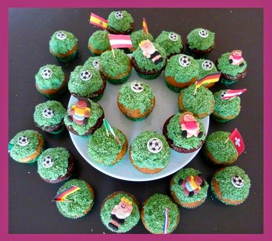Die Backprinzessin: Cupcakes für Mini-Fussballer